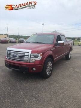 2013 Ford F-150 for sale at Carmans Used Cars & Trucks in Jackson OH