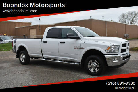 2013 RAM Ram Pickup 2500 for sale at Boondox Motorsports in Caledonia MI