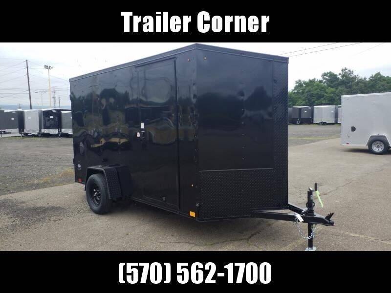 2021 Look Trailers STLC 6X12 EXT HEIGHT BLK OUT
