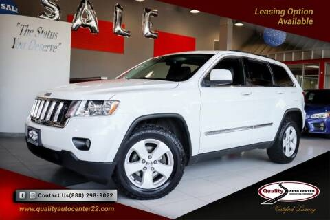 2013 Jeep Grand Cherokee for sale at Quality Auto Center in Springfield NJ