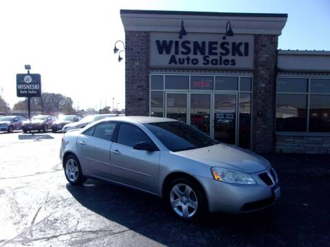 2007 Pontiac G6 for sale at Wisneski Auto Sales, Inc. in Green Bay WI