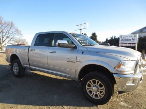 2017 RAM Ram Pickup 2500 for sale at GREENFIELD AUTO SALES in Greenfield IA