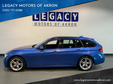 2015 BMW 3 Series for sale at LEGACY MOTORS OF AKRON in Akron OH