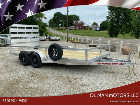 2021 WOLVERINE 7X16 UTILITY for sale at Ol Man Motors LLC in Louisville OH
