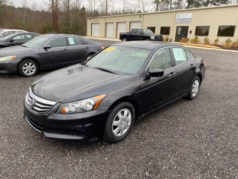 2012 Honda Accord for sale at B & B AUTO SALES INC in Odenville AL