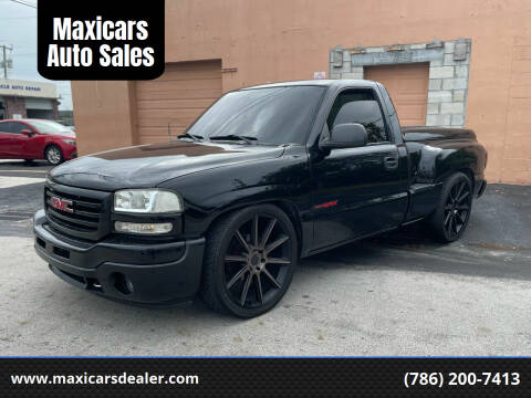 2005 GMC Sierra 1500 for sale at Maxicars Auto Sales in West Park FL