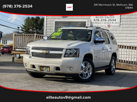 2010 Chevrolet Tahoe for sale at ELITE AUTO SALES, INC in Methuen MA