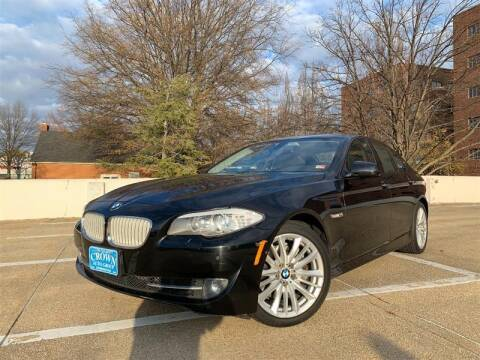 2011 BMW 5 Series for sale at Crown Auto Group in Falls Church VA