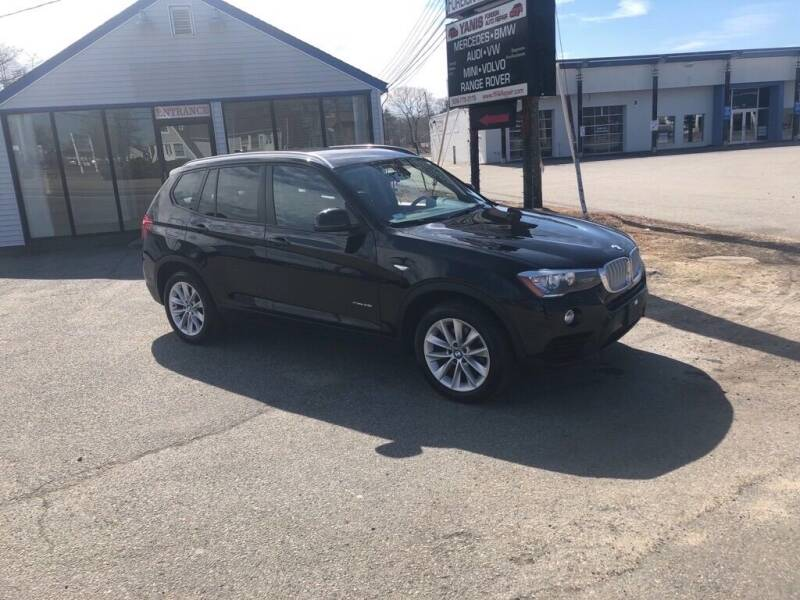 2016 BMW X3 for sale at HYANNIS FOREIGN AUTO SALES in Hyannis MA