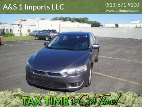 2008 Mitsubishi Lancer for sale at A&S 1 Imports LLC in Cincinnati OH