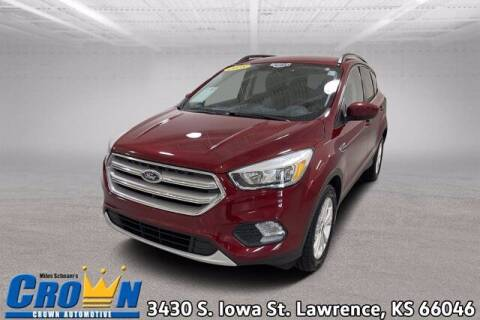 2018 Ford Escape for sale at Crown Automotive of Lawrence Kansas in Lawrence KS