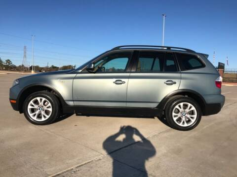 2010 BMW X3 for sale at ALL AMERICAN FINANCE AND AUTO in Houston TX