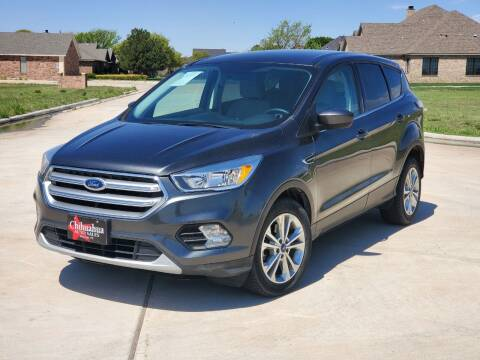 2017 Ford Escape for sale at Chihuahua Auto Sales in Perryton TX