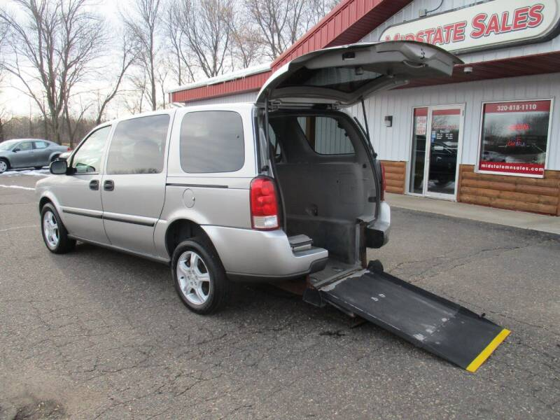 2007 Chevrolet Uplander for sale at Midstate Sales in Foley MN