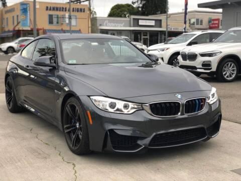 2015 BMW M4 for sale at H & K Auto Sales & Leasing in San Jose CA