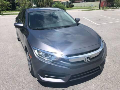 2016 Honda Civic for sale at Consumer Auto Credit in Tampa FL
