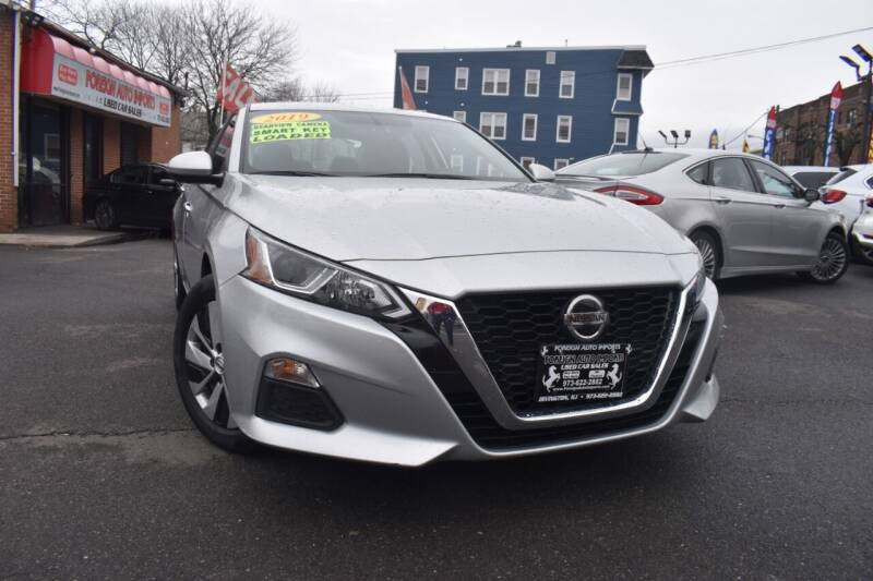 2019 Nissan Altima for sale at Foreign Auto Imports in Irvington NJ