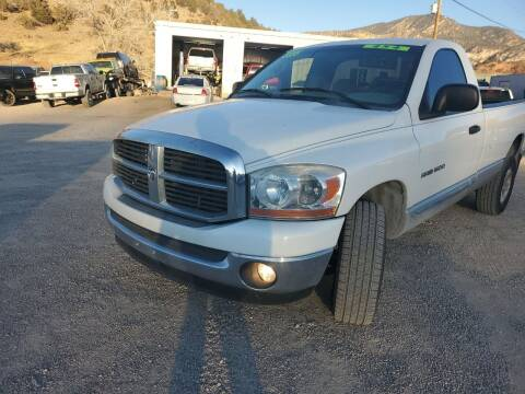 2006 Dodge Ram Pickup 1500 for sale at Canyon View Auto Sales in Cedar City UT