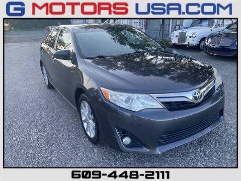 2012 Toyota Camry for sale at G Motors in Monroe NJ