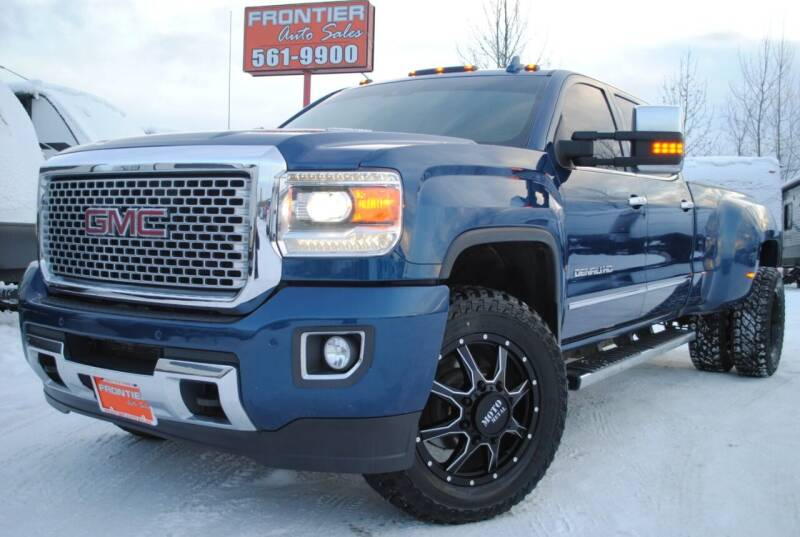 2016 GMC Sierra 3500HD for sale at Frontier Auto & RV Sales in Anchorage AK
