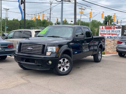 2012 Ford F-150 for sale at L.A. Trading Co. Woodhaven in Woodhaven MI