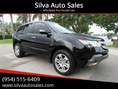 2007 Acura MDX for sale at Silva Auto Sales in Pompano Beach FL