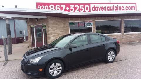 2013 Chevrolet Cruze for sale at Dave's Auto Sales & Service in Weyauwega WI