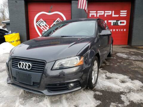 2011 Audi A3 for sale at Apple Auto Sales Inc in Camillus NY