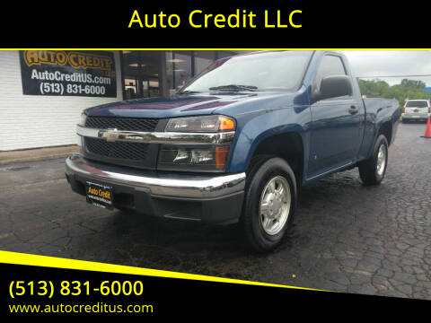 2006 Chevrolet Colorado for sale at Auto Credit LLC in Milford OH