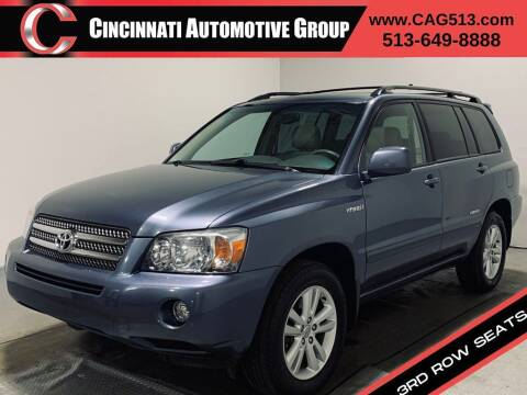 2006 Toyota Highlander Hybrid for sale at Cincinnati Automotive Group in Lebanon OH