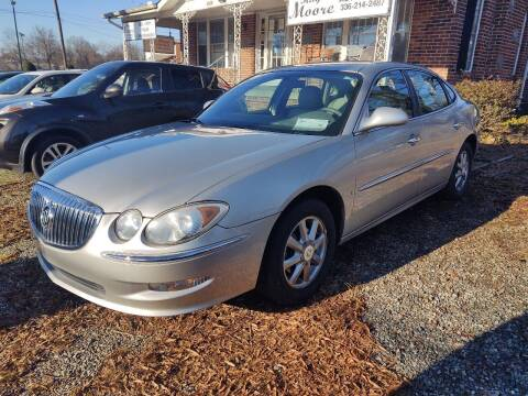 2008 Buick LaCrosse for sale at Ray Moore Auto Sales in Graham NC