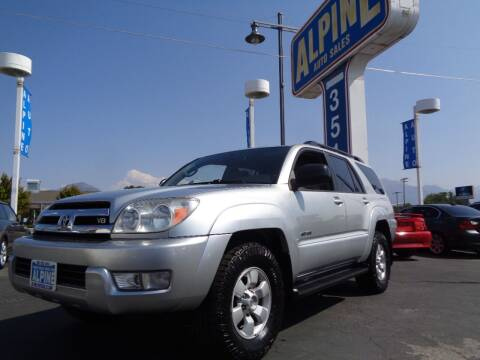 2005 Toyota 4Runner for sale at Alpine Auto Sales in Salt Lake City UT