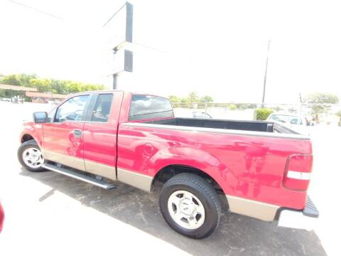 2006 Ford F-150 for sale at BIG 7 USED CARS INC in League City TX