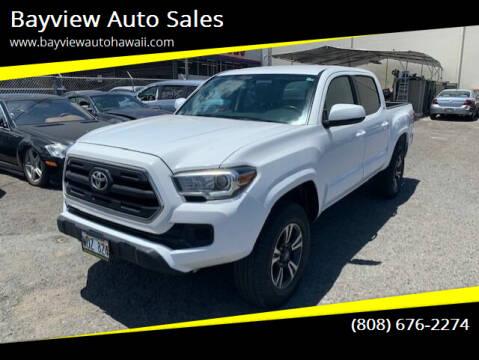 2016 Toyota Tacoma for sale at Bayview Auto Sales in Waipahu HI