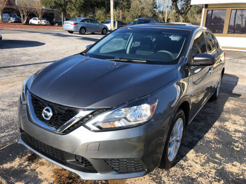 2018 Nissan Sentra for sale at Beach Cars in Fort Walton Beach FL