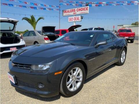 2014 Chevrolet Camaro for sale at Dealers Choice Inc in Farmersville CA