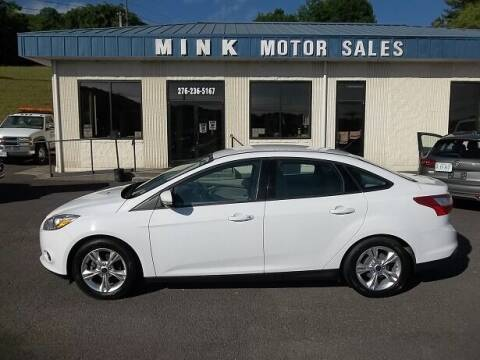 2014 Ford Focus for sale at MINK MOTOR SALES INC in Galax VA