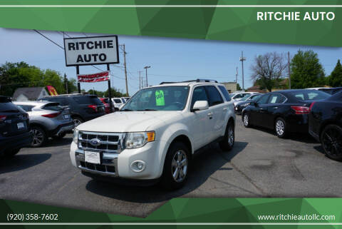 2010 Ford Escape for sale at Ritchie Auto in Appleton WI