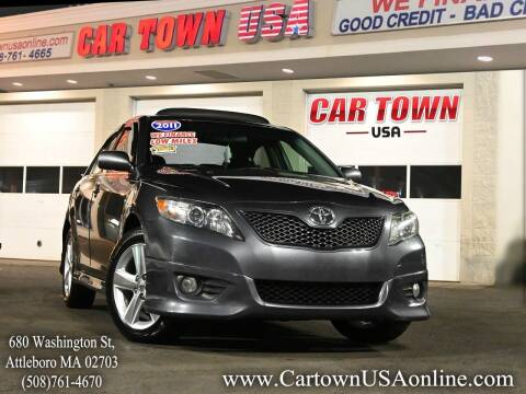 2011 Toyota Camry for sale at Car Town USA in Attleboro MA