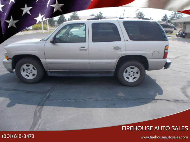 2004 Chevrolet Tahoe for sale at Firehouse Auto Sales in Springville UT