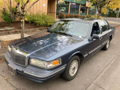 1996 Lincoln Town Car for sale at Blue Line Auto Group in Portland OR