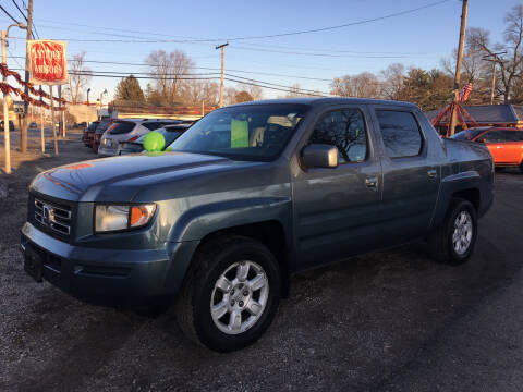 2006 Honda Ridgeline for sale at Antique Motors in Plymouth IN