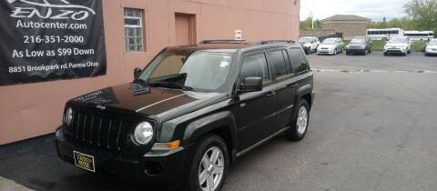 2010 Jeep Patriot for sale at ENZO AUTO in Parma OH