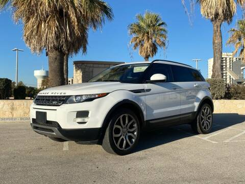 2014 Land Rover Range Rover Evoque for sale at Motorcars Group Management - Bud Johnson Motor Co in San Antonio TX