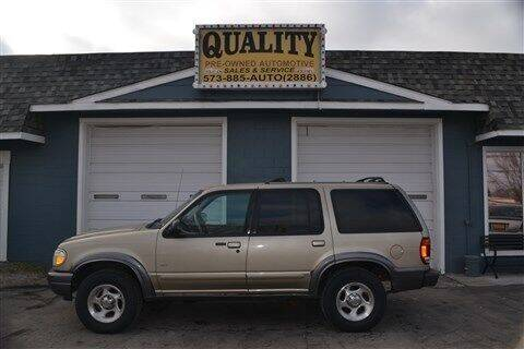 2001 Ford Explorer for sale at Quality Pre-Owned Automotive in Cuba MO
