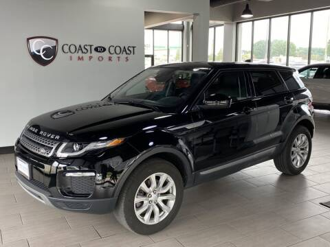 2018 Land Rover Range Rover Evoque for sale at Coast to Coast Imports in Fishers IN