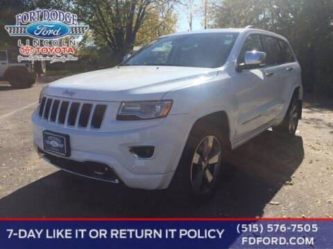 2016 Jeep Grand Cherokee for sale at Fort Dodge Ford Lincoln Toyota in Fort Dodge IA
