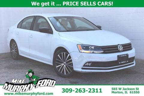 2016 Volkswagen Jetta for sale at Mike Murphy Ford in Morton IL