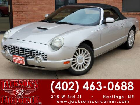 2005 Ford Thunderbird for sale at Jacksons Car Corner Inc in Hastings NE