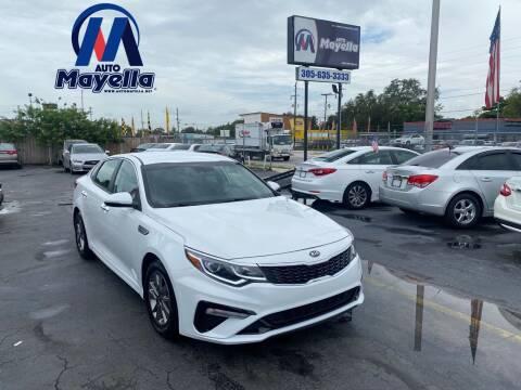 2019 Kia Optima for sale at Auto Mayella in Miami FL